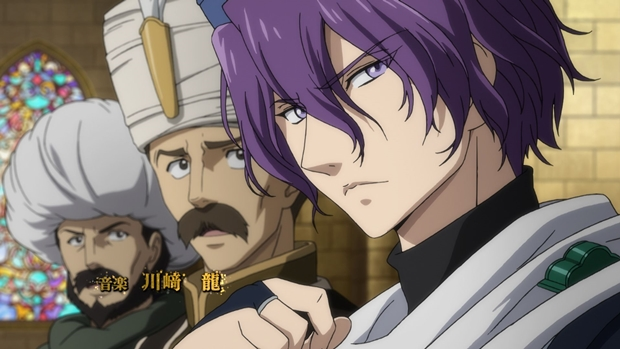 TVアニメ『将国のアルタイル』第20話より先行場面カットが到着! 帝国軍とは戦わず、逃げ切る策を選んだカリルだったが……-11