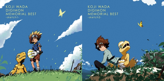 和田光司さんが歌う『デジモン』シリーズの楽曲を集めたアルバム発売