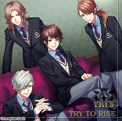 ▲『DYNAMIC CHORD shuffleCD series 2nd vol.1 TRYS』