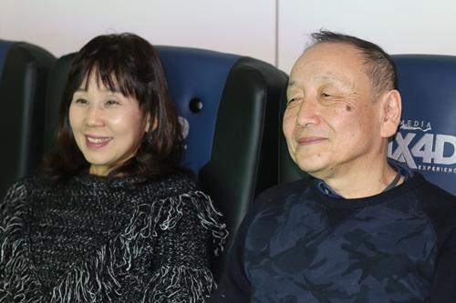 ▲左から島本須美さん、友永和秀さん