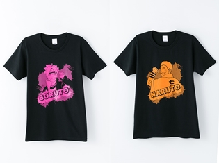 『BORUTO -NARUTO THE MOVIE-』よりボルトとナルトのTシャツが発売決定!