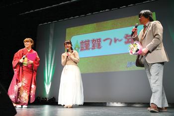 『ラブライブ!』伊波杏樹さんと新田恵海さんが初共演!Aqoursとμ'sが同学年として歌って踊る『スクスタ』に、久保田未夢さんら新声優陣が発表-5
