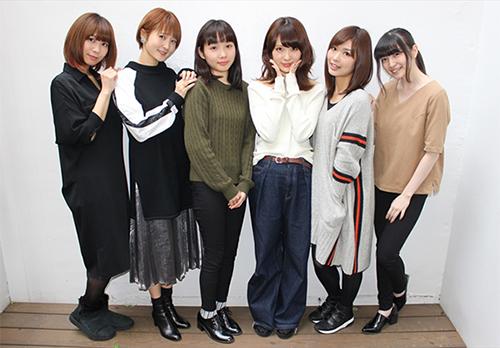 八島さららさんら『アイドル事変』声優が「2017年の公約」を発表