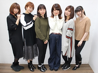 八島さららさん・渕上舞さん・上田麗奈さんら『アイドル事変』声優が「2017年の公約」を発表!? 第3話収録後に公式インタビュー実施