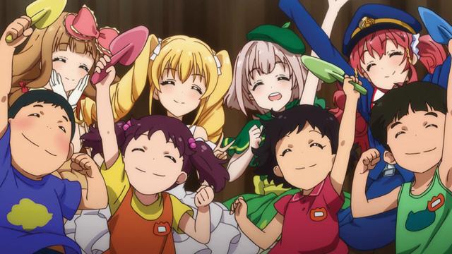TVアニメ『アイドル事変』第10話より先行カット到着!靜が発案となった超党派ユニットが始動!!-3