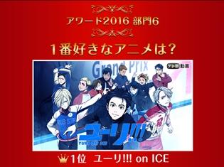 『リゼロ』『ユーリ!!! on ICE』が2冠達成! 「dアニメストア」実施の2016年アニメランキング6部門の結果発表