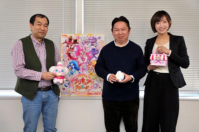 ▲写真左より、貝澤幸男シリーズディレクター、暮田公平シリーズディレクター、神木優プロデューサー