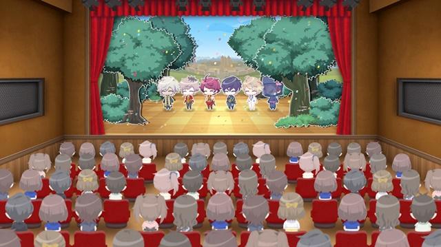 ▲演目は1回5分としっかり見ることができます。稽古を重ねた舞台をモーションで見ることができるのは監督としてなによりの喜びです。