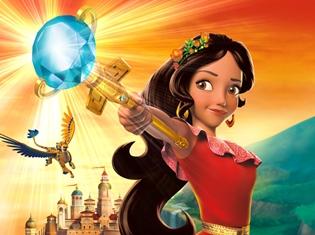 ディズニーの新プリンスが地上波に初登場! 2017年期待作『アバローのプリンセス エレナ』テレビ東京系列で放送開始