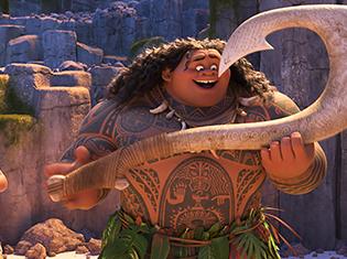 ポスト『アナ雪』!? ディズニー最新作『モアナと伝説の海』より、尾上松也さんが声優を務めた本編シーンが解禁に