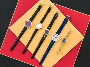 『一血卍傑』のシュテンドウジやモモタロウなどの英傑達をイメージしたコラボ腕時計が登場! スタイリッシュな全5種類がラインナップ!