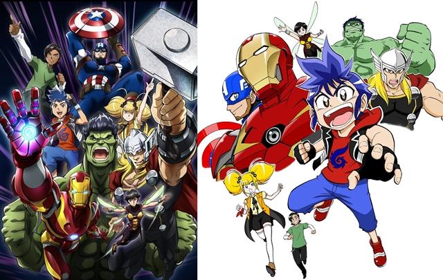 マーベルの新作日本オリジナルTVアニメの制作が発表! 今夏放送へ