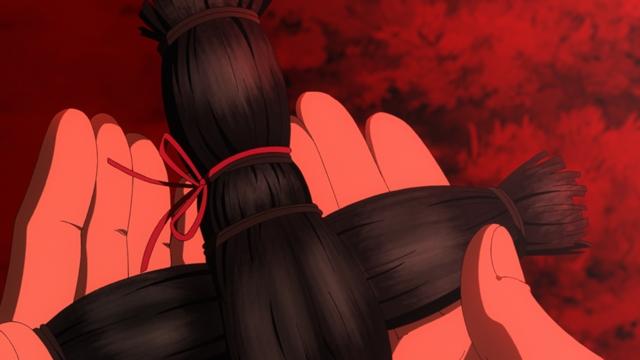 TVアニメ『地獄少女 宵伽』回顧録(2)「昼下がりの窓」より場面カット到着!ある日の昼下がりに鳴った1本の電話とドアを執拗に叩く音……-6