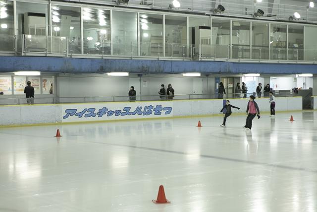 ▲スケートリンク