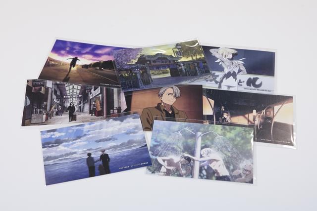 ▲オリジナルポストカード(コラボフードノベルティ)