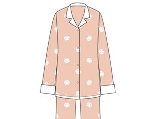 『化物語』より、ネコのモチーフが可愛らしいアニメ本編にも登場した羽川翼のパジャマが発売決定! メンズフリーも発売