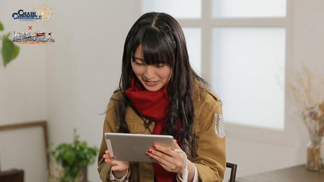 『チェンクロ』と『進撃の巨人』コラボで石川由依さん出演のPV公開