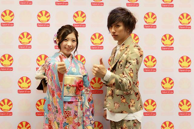 ▲さらに音楽アーティストとして、元AKBの演歌歌手の岩佐美咲さんも来られていました。肝心の僕はというと、フランス語のオリジナル曲をこの日のために作って、みんなでMV撮影をしたり
