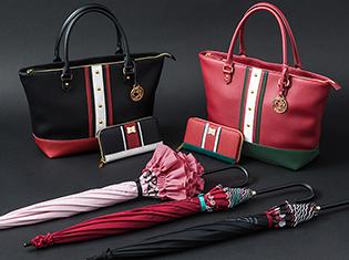 懐かしの名作『少女革命ウテナ』×SuperGroupiesのコラボアイテムが登場! 上品なデザインのバッグ&財布&傘がラインナップ