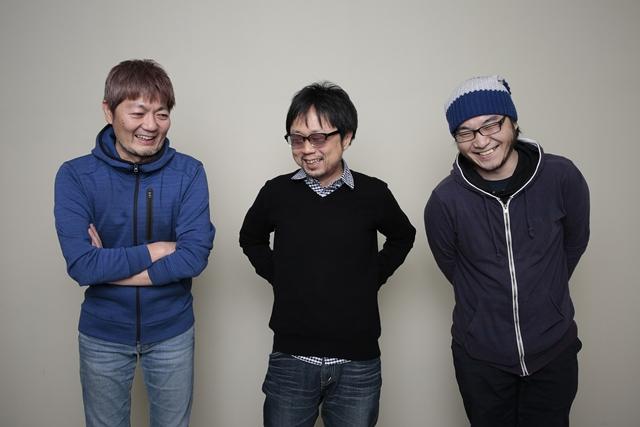 ▲左から吉田健一氏、京田知己氏、佐藤大氏