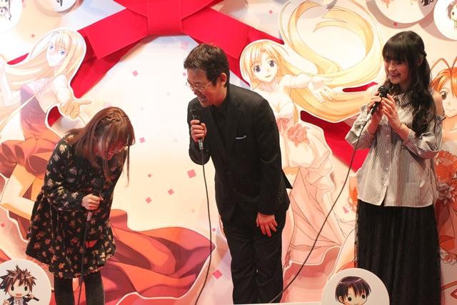 「赤松健原画展」に赤松健先生、佐藤利奈さん、高倉有加さんが登場