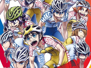 TVアニメ『弱虫ペダル NEW GENERATION』は4月から第2クールスタート! 14キャラが集結した新キービジュアルが解禁!