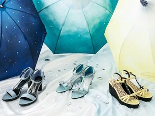 『ユーリ!!! on ICE』より勇利、ヴィクトル、ユーリをイメージしたコラボサンダル&傘が登場!