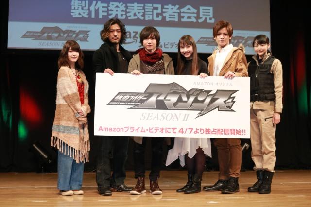 ▲写真左より、東亜優さん、谷口賢志さん、白本彩奈さん、前嶋曜さん、藤田富さん、武田玲奈さん
