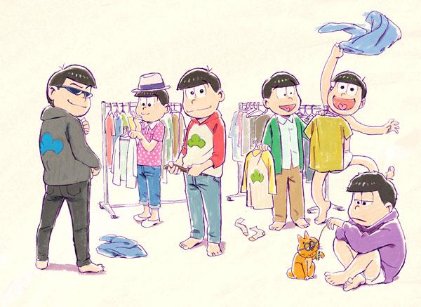 『おそ松さん』TVアニメ2期放送決定!声優陣からのコメントも到着