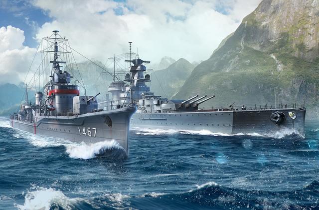 『はいふり』の艦艇が『World of Warships』に登場