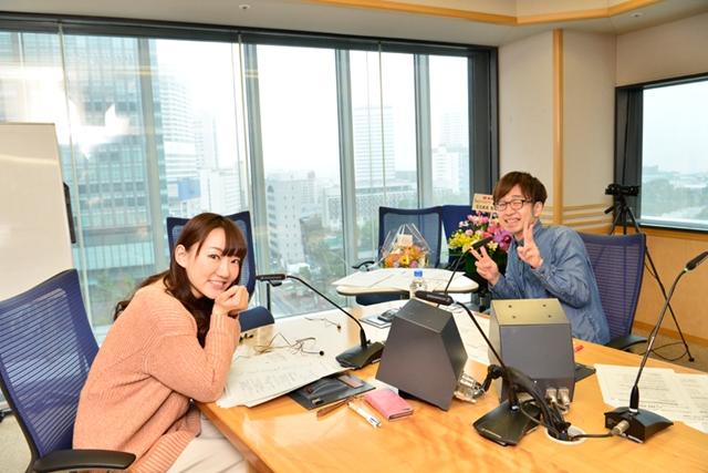 ▲左手前:阿澄佳奈さん、右奥:青木佑磨さん(初回アシスタント)
