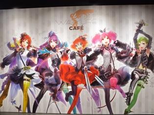 『マクロスΔ』原宿で開催中のワルキューレカフェで、横浜アリーナで開催された2ndライブの感動を再び!