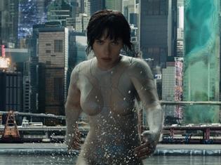 『ゴースト・イン・ザ・シェル』週末興収ランキング第2位獲得! IMAX・MX4D・4DXなどの特殊上映は、驚異の稼働率に