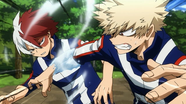TVアニメ『僕のヒーローアカデミア』新シリーズ第3話「みんな個性的でいいね」の先行場面カットが公開