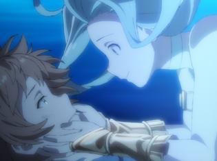 TVアニメ『グランブルーファンタジー』第1話より場面カット到着!グランが森で不思議な少女と出会う――