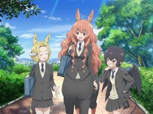 TVアニメ「セントールの悩み」が2017年7月より放送開始 キービジュアルやメインキャラクターの設定も公開!