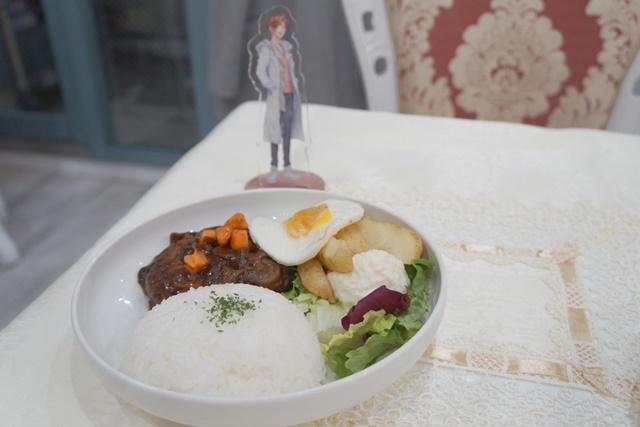 ▲ロングアイランド・アイスティーのキメラ肉実験プレート