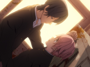 TVアニメ『喧嘩番長 乙女 -Girl Beats Boys-』第2話より先行場面カット到着! 高校入学初日を無事終えたひなこのもとにある人物が現れる