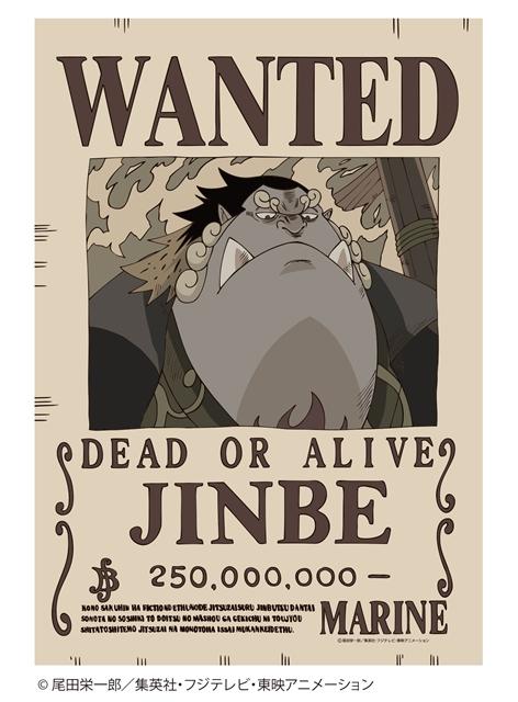 ▲<b>タイヨウの海賊団船長「ジンベエ」</b>