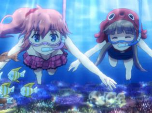 TVアニメ『ツインエンジェルBREAK』第5話より先行場面カット!修学旅行先の沖縄でアイドルグループに出会って……