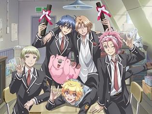 OVA『美男高校地球防衛部LOVE!LOVE!LOVE!』8月26日より劇場にてリミテッド上映決定&新ビジュアル公開!