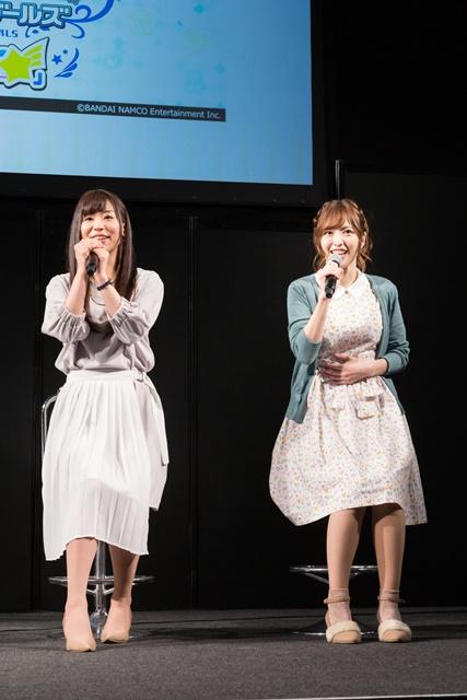 ▲左より、福原綾香さん、佳村はるかさん