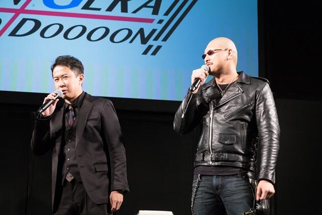 ▲左より、杉田智和さん、マフィア梶田さん