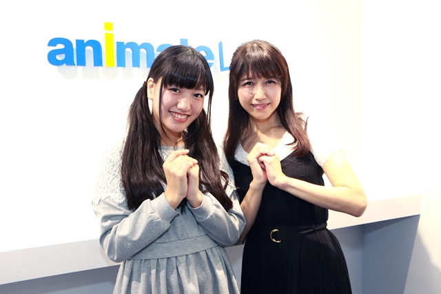 井上喜久子さんと井上ほの花さん...