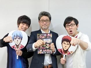 小野賢章さん・小野友樹さん『劇場版 黒子のバスケ』大ヒット御礼舞台挨拶で喜びのコメント! 当日の写真も公開