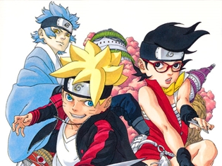 ナルト&サスケが復活する『BORUTO』3巻発売! 生駒里奈さん(乃木坂46)からの応援コメントが到着