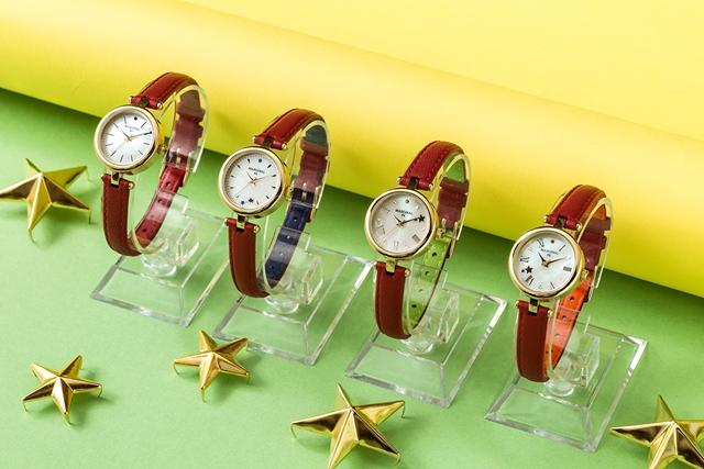 TVアニメ『MARGINAL#4』より、コラボ腕時計4種が登場!