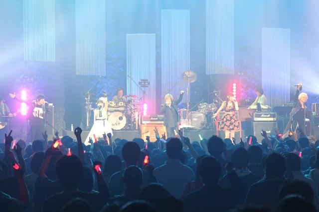 影山ヒロノブさんデビュー40周年記念ライブイベントの公式レポ到着