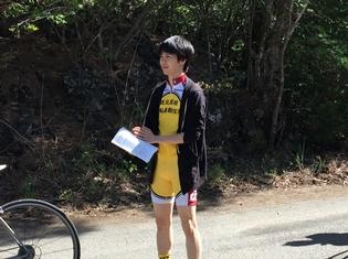 ドラマ版『弱虫ペダル』続編、主演・小越勇輝さんクランクイン! 御堂筋翔役に、新メンバー守屋光治さんが決定