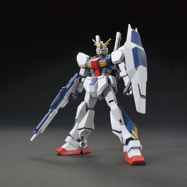 """▲HG 1/144 ガンダムAN-01 """"トリスタン"""""""